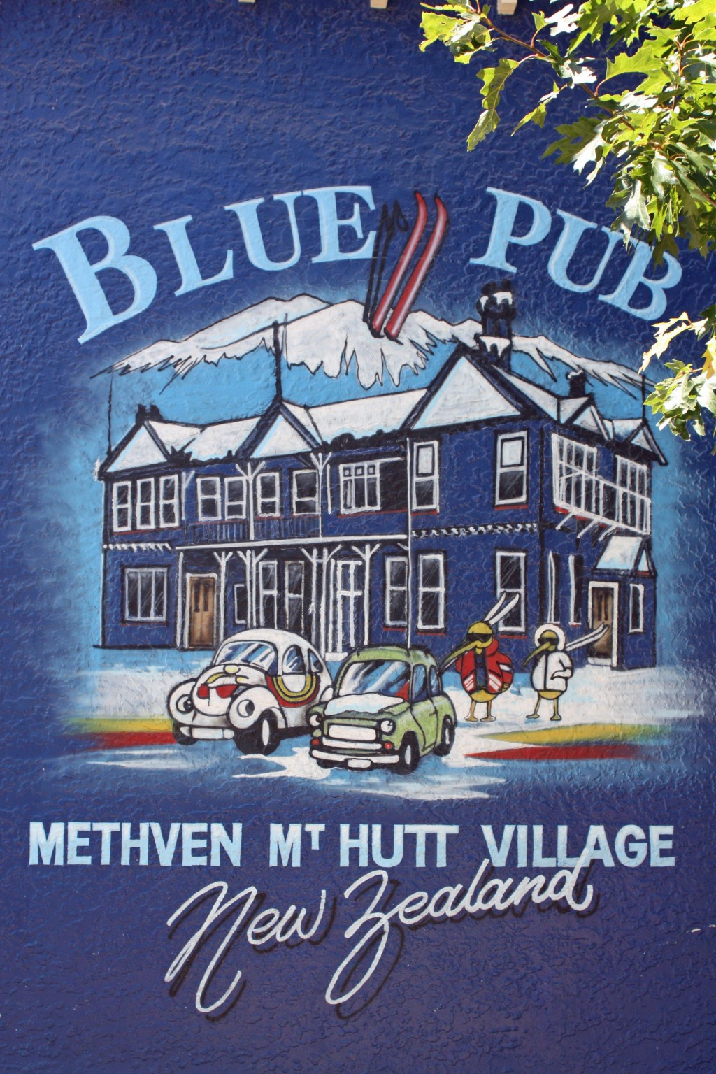 Blue Pub Inn ~ Methven, New Zealand